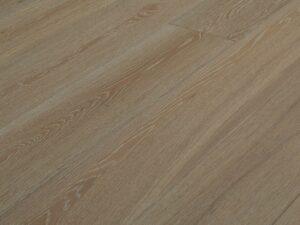 Lamelplank - Hvid mat lak, Natur, Børstet , V4, DD Click