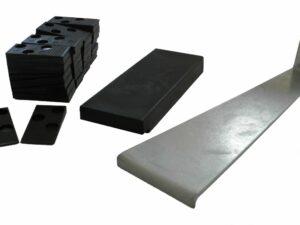 Montagesæt bestående af 30 kiler, 1 trækjern og 1 slåklods, 12 stk. pr. kasse