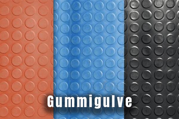 Gummigulv